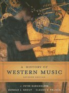 A History of Western Music 7th edition