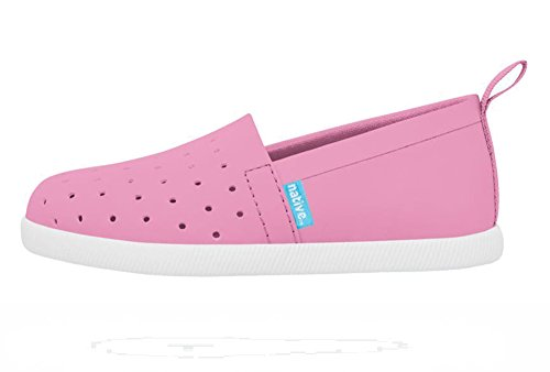 Venice Child Shell Shoe Pink Malibu White Kids Native Boat 50xwEwH
