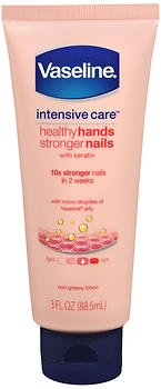 Vaseline Intensive Care Hand & Nail Lotion 3.1 Ounces (Pack of 4)