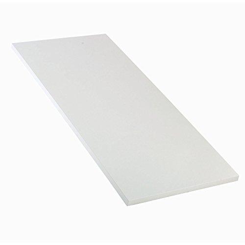 Workbench Top - Plastic Laminate Square Edge, Light Gray, 60