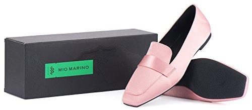 Mocassini Penny Mio Marino - Scarpe A Punta Piatte Per Donna - In Confezione Regalo Color Malva