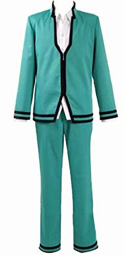 NSOKing no sai-nan Cosplay Kusuo Saiki Japanese Anime School Uniform Boy Outfit (X-Large, Boys Set)