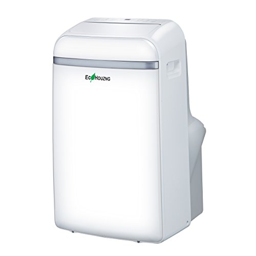 Ecohouzng Homevision Technology ECH2140 14000 BTU Portable Air Conditioner with Heater, White