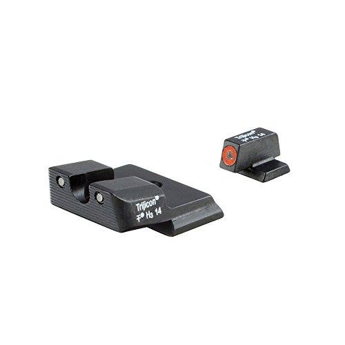 Trijicon S&W M&P Shield HD Night Sight Set, Orange Front Outline