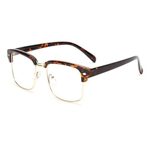 sin Semi Retro Hombre Carey Mujer Computadora Moda Lente Eyewear montura Claro Casual Gafas Xinvision 1vPt7wxEq1