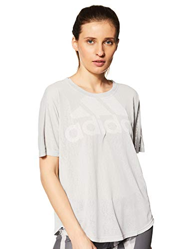 Grigio Logo Tee F17 Magic Sportiva Camicia Grey Donna Two grey F17 Adidas qagUfn