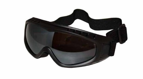 Eye Ride Over Glass Goggles (Black/Smoke), Outdoor Stuffs