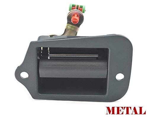 Sentinel Parts ALL METAL Cargo Extended Cab 3rd Third Side Door Handle for 1996-2003 Chevy S10 Pickup Truck GMC Isuzu 15760310