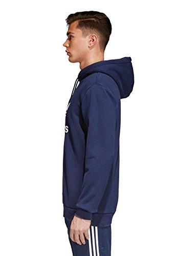 Adidas Originals Herren Sweater TREFOIL HOODY CX1900 Dunkelblau, Größe:S