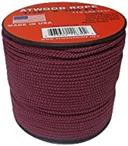Atwood Rope MFG 1/16 Utility Cord 1.6mm x 300ft Reusable Spool | Tactical Nylon/Polyester Fishing Gear, Jewelr