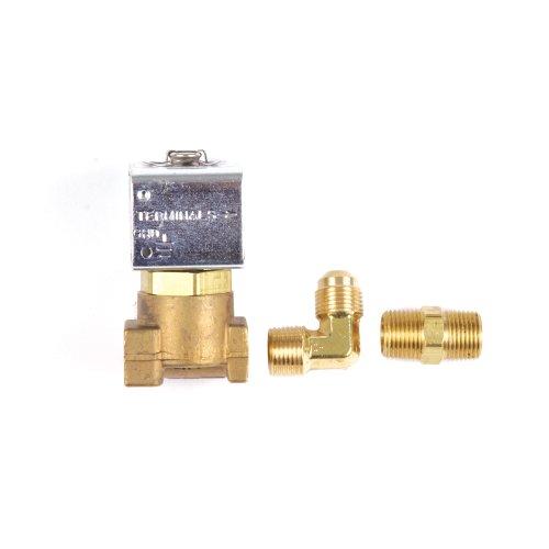 Trident Marine 1300-7708.2-KIT, Low-Pressure LPG, 12 VDC Brass Solenoid Valve with 1/4