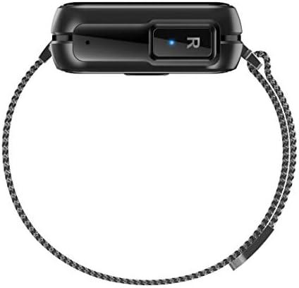 DECWIN Smart Watch Bracelet 2 in 1 TWS Wireless Bluetooth Earbuds 1.4 Inch Heart Rate Blood Pressure Fitness Trackers Wristband Smartwatches Waterproof 6