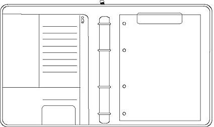 265 x 345 mm Format A4 Chronoplan 50864 nachf/üllbarer Terminplaner // Organizer // Terminkalender Mappe aus Premium Vollrindleder mit Rei/ßverschluss, Ringbuch, ohne Kalendarium schwarz
