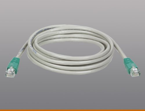 Tripp Lite Cat6/Cat5e/Network Cross-Over Cables Gray 7 Feet Unshielded Twisted Pair