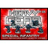 Heavy Gear Blitz! - Southern Militia Special Infantry Pack