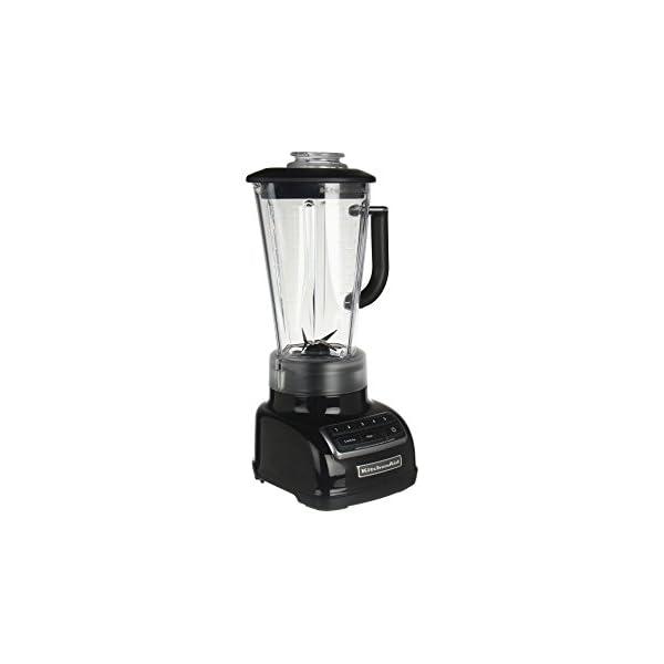 KitchenAid KSB1575 5-Speed Diamond Blender with 60-Ounce BPA-Free Pitcher