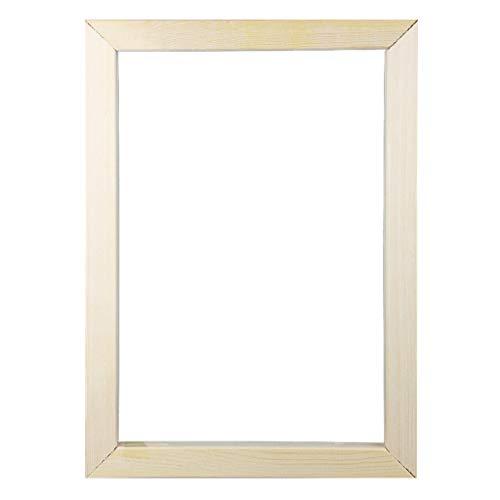 NIHAI 5D Diamond Painting Frame, Wood Modern Photo Picture Frame, DIY Cross Stitch Embroidery Frame Suitable for Diamond Painting Size 25X30cm 30X30cm 30X40cm (C)