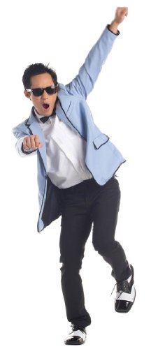 Korean Pop Star Adult Costume - (Pop Star Halloween Costumes For Adults)