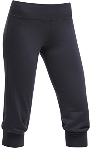 Icebreaker Women's Spirit Capri, Panther, Medium by Icebreaker Merino