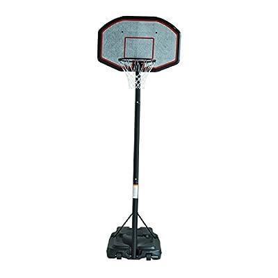 B6-0002 Youth Indoor/Outdoor Adjustable Height Portable Basketball Hoop Set