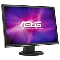 Asus LCD VW22AT-CSM LED Backlight 22inch Wide DVI 5ms 1680x1050 50M:1 Speaker Black