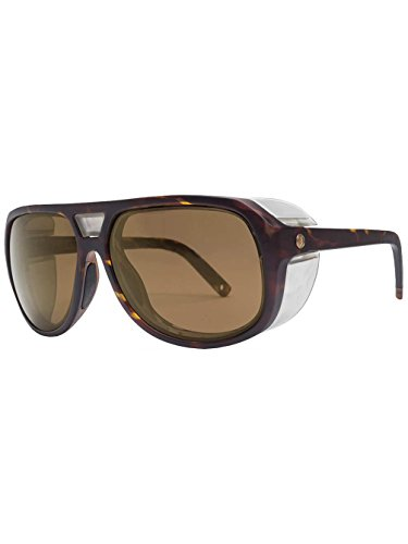 New Electric Men's Stacker Polarized Sunglasses Brown