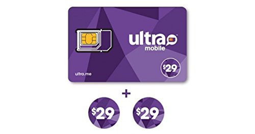 Ultra Mobile $29 Plan for 2 Months with SIM Card by Ultra Mobile