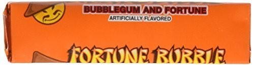 R.L. Albert & Son Fortune Bubble Wrapped Bubblegum Sticks, 48 Piece by R.L. Albert Son