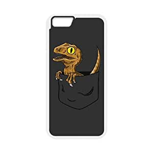 iPhone 6 4.7 Inch Cell Phone Case White Pocket Raptor OQ7648251