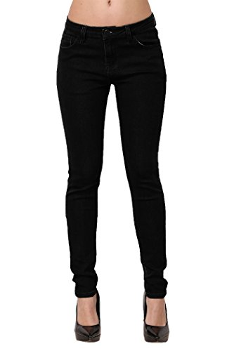 ZLZ Skinny Jeans, Women's Casual Butt Lift Stretch Jeans Leggings (10, Solid...