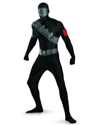 Disguise Costumes Snake Eyes Bodysuit Costume, Teen, X-Large (14-16 Months) by (Snake Eyes Bodysuit Teen Costumes)
