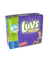 Luvs with Ultra Leakguards, Size 4 Diapers, 29 ea BOBEBE Online Baby Store From New York to Miami and Los Angeles