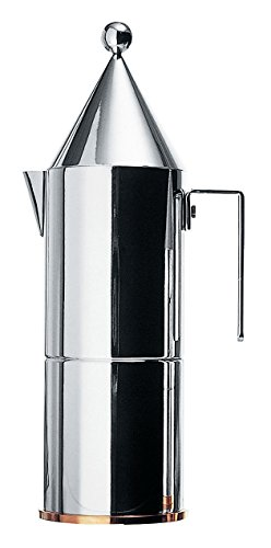 Alessi 90002/6 La Conica Espresso Maker 6 Cups by Alessi