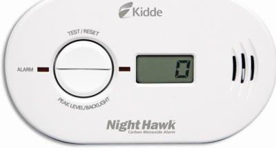Kidde KN-COPP-B-LS Night Hawk Carbon Monoxide Alarm, Battery Operated with Digital Display by Kidde