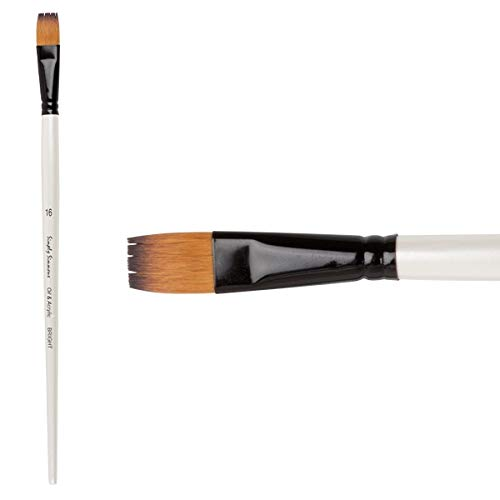 Simply Simmons Oil and Acrylic Brush Synthetic Bright LH 20 from DALER-ROWNEY/FILA CO