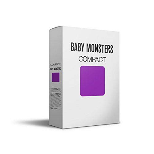 Baby Monsters Compact - Colchoneta para silla de paseo, color mor