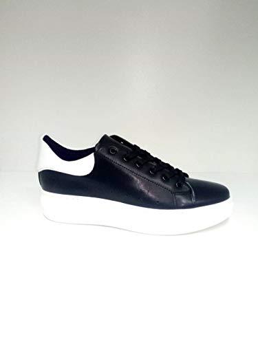 Spoiler Made Uomo Mc Sneaker Primavera Nero Collezione Bianco Italy In 2019 estate Pelle rApwnr0q