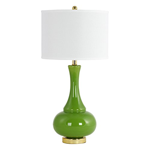 Aspire Table Lamp Adaliz Glass, Green (Aspire Lamp Table)