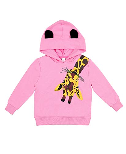 beautyin Kids Girls Cute Cartoon Winter Warm Long Sleeve Hoodie Pullover Sweatshirt Hooded 7 Year by beautyin