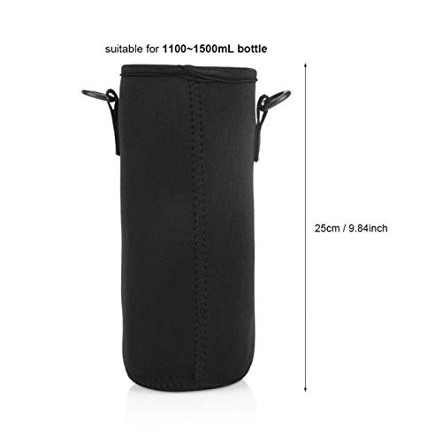 Water Bottle & Cup Accessories - Water Bottle Sleeve Carrying Pouch Bag Holder Hiking Fishing - Business Napkins Leash Wheelchair Eyelash Plastic Women Boards Fireplace Foil Tape Girls Ta]()