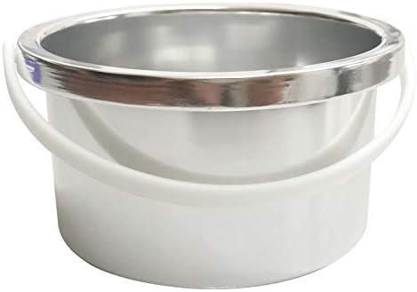 Crisnails - Calentador de Cera Eléctrico para la Depilación Profesional 500ml, Color Blanco: Amazon.es: Salud y cuidado personal