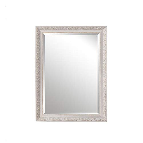 (SYLJ Bathroom Mirror, Bedroom Vanity Mirror, Wall Mounted Mirror, Toilet Mirror,Solid Wood)