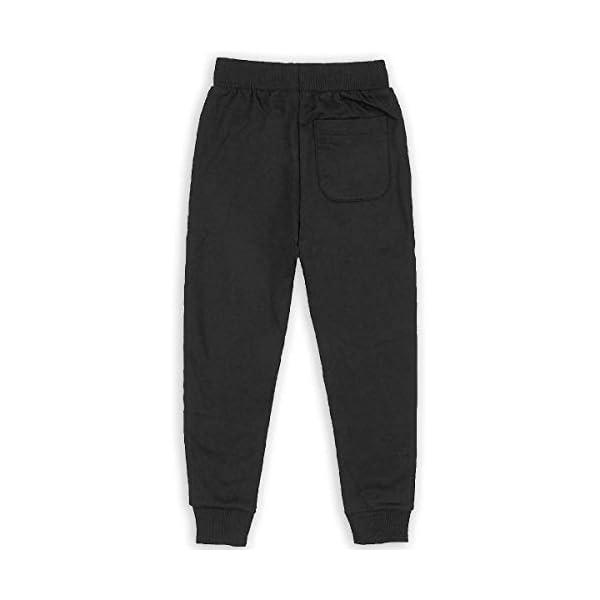 Boys Fashion Sweatpants Owl Steampunk Adjustable Waist Running Pants with Pocket 4