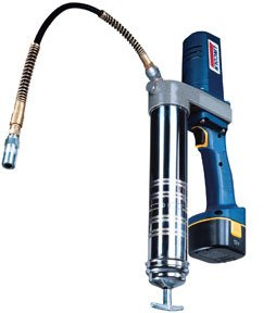 Lincoln PowerLuber Cordless Rechargeable Grease Gun Kit with 1 Battery - 12 Volt, 6000 PSI, Model#...