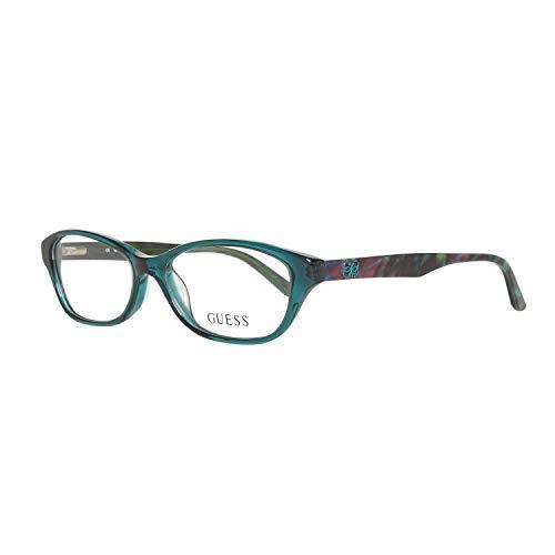 GUESS Eyeglasses GU 2417 Crystal Green 52MM (Guess Eye Glass Frames)