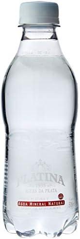 Água Platina Pet Com Gás 310Ml