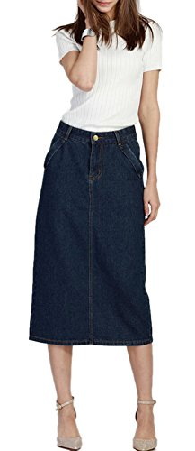 Skirt BL Womens Vintage Casual