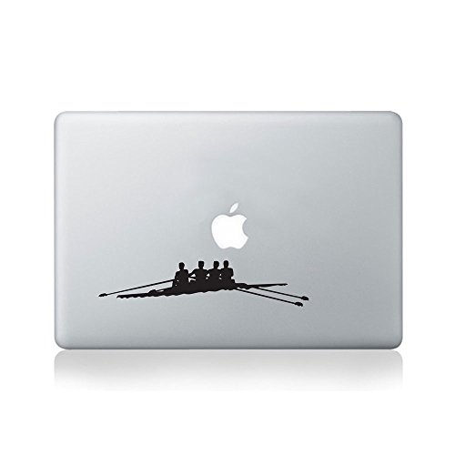 Rowing Team Vinyl Macbook Decal/Laptop Decal - Fits Macbook