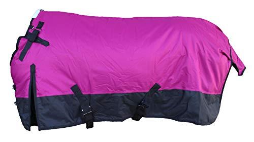 "CHALLENGER 78"" 1200D Horse Turnout Waterproof Heavy Weight Winter Blanket 5EE08G"