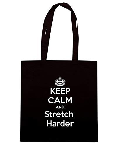 Shirt Nera AND Speed CALM KEEP Borsa TKC0866 Shopper HARDER STRETCH wtqdH4Bq